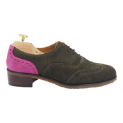 Women Green Oxford Shoes