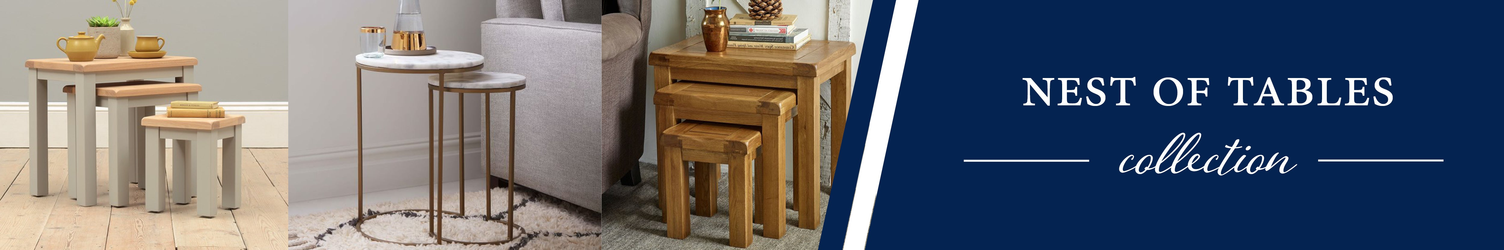 HomePlus Furniture | Nest of Tables Collection