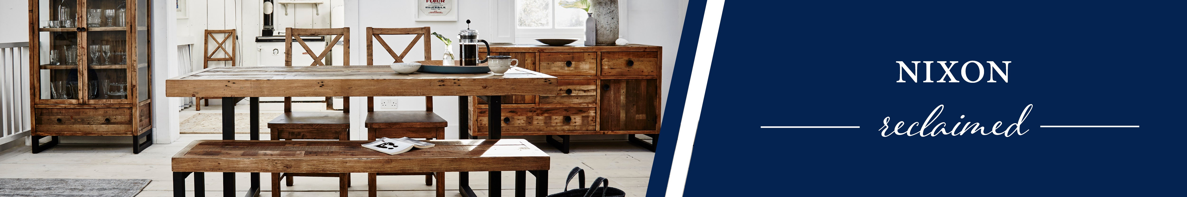 HomePlus Furniture   Nixon Reclaimed Collection