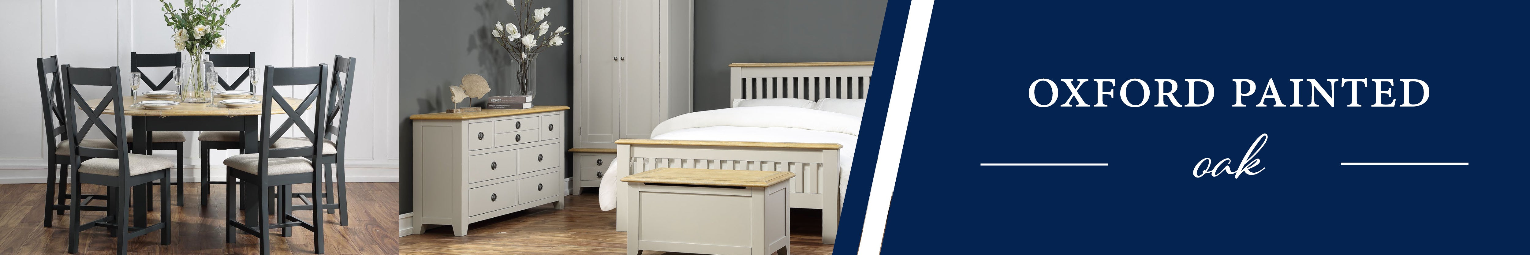 HomePlus Furniture | Oxford Painted Oak Collection