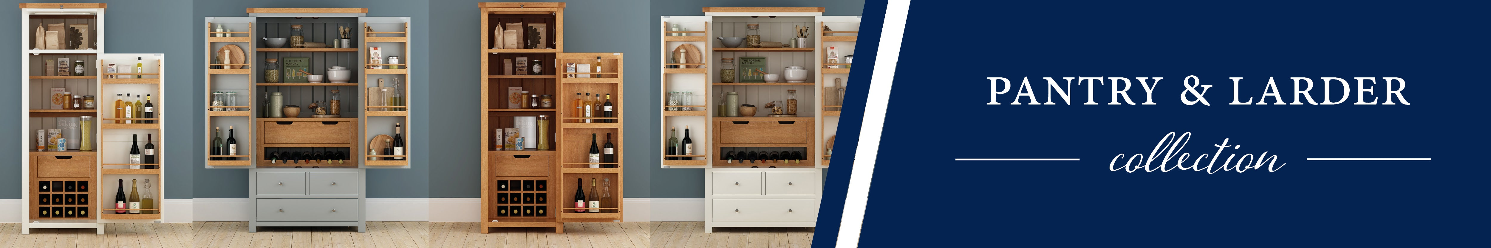 HomePlus Furniture | Pantry Cupboard and Larder Unit Collection
