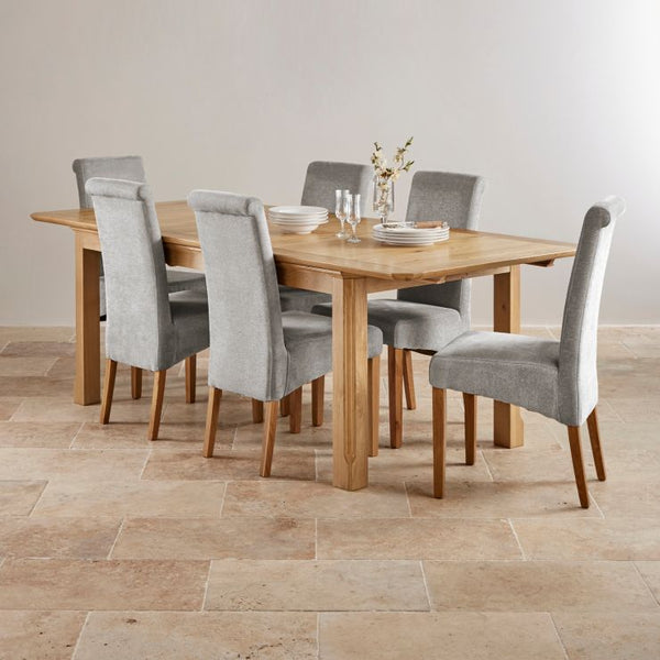 Salisbury Small Butterfly Extending Dining Table (1.5 m-2.0 m)