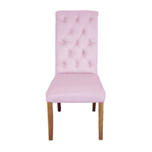 Ella Velvet Dining Chair | Blush - HomePlus Furniture