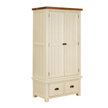 Cotswold Wimbourne 2 Door 2 Drawer Wardrobe - Cotswold Pine - HomePlus Furniture