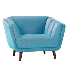 Hendricks Teal Armchair - Urban Chic - HomePlus Furniture