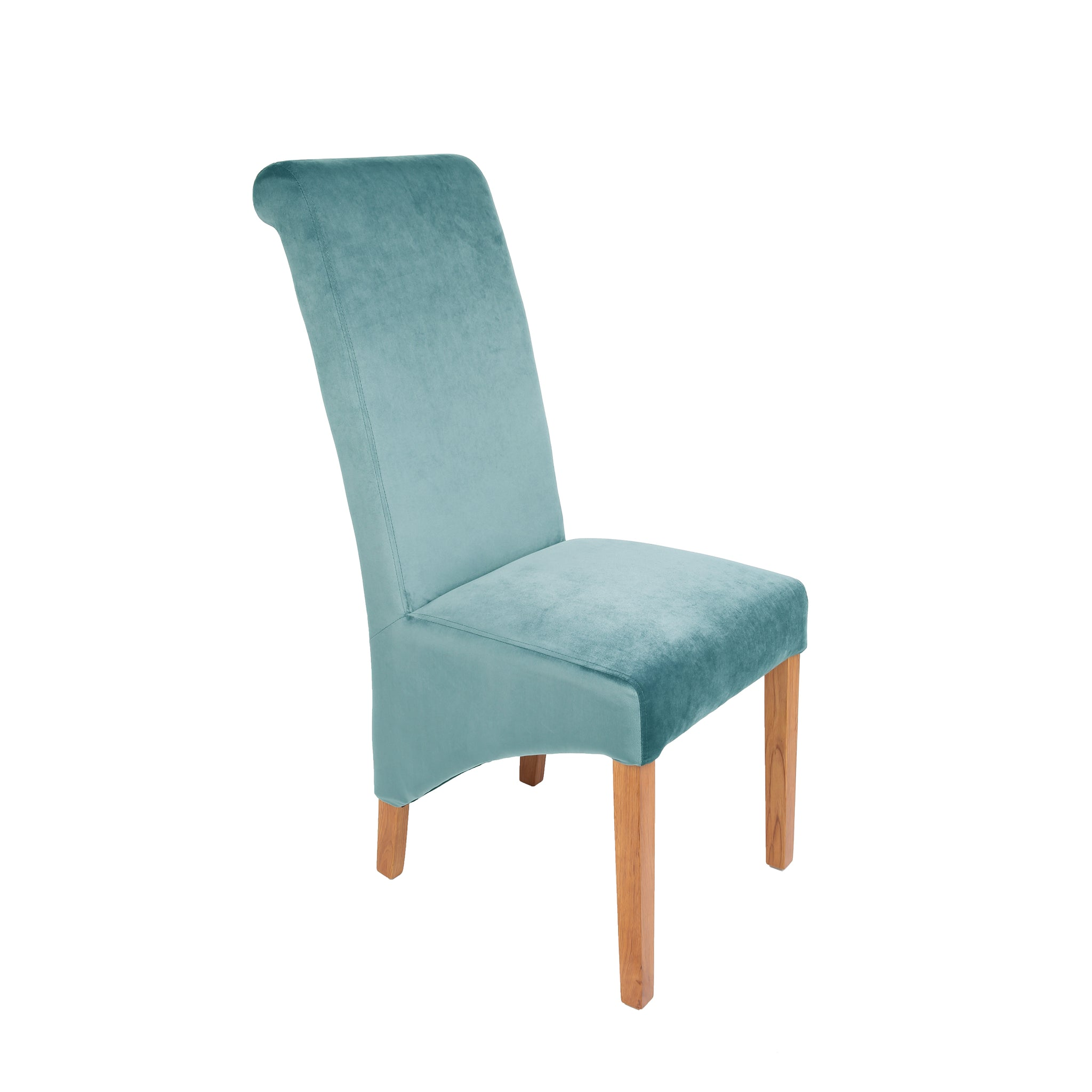 Home Plus Furniture: Rhianna Velvet Button Back Dining Chair