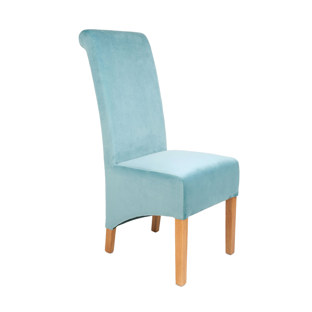 London Velvet Dining Chair