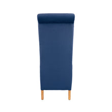 London Velvet Dining Chair | Navy - HomePlus Furniture