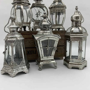 Assorted Silver Lanterns - HomePlus Furniture