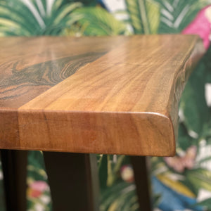 Acacia Live Edge Lamp Table