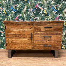 Acacia Live Edge Small Sideboard