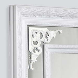 Argyle Mirror | White - HomePlus Furniture