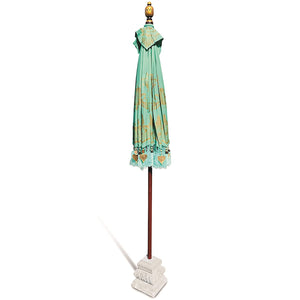Balinese Sun Umbrella Parasol | Mint - HomePlus Furniture