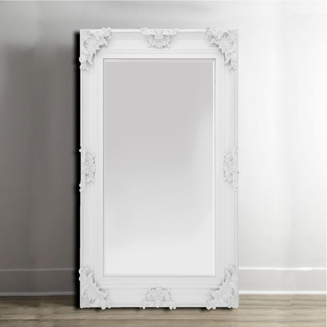 Beaumont Large Mirror Large | White - HomePlus Furniture