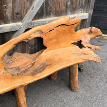 Teak Root Large Bench - HomePlus Furniture