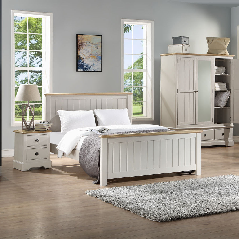 Charlotte 4ft 6' Double Bed - HomePlus Furniture