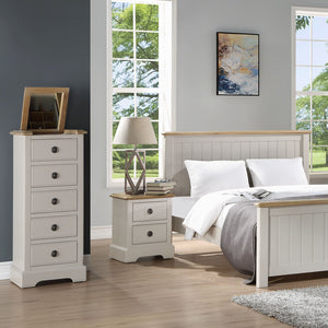 Charlotte 2 Over 3 Chest Of Drawers - HomePlus Furniture
