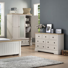 Charlotte 2 Over 3 Chest Of Drawers - Light
