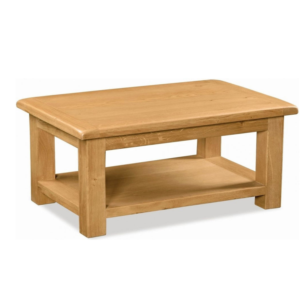 Salisbury Oak Coffee Table - HomePlus Furniture