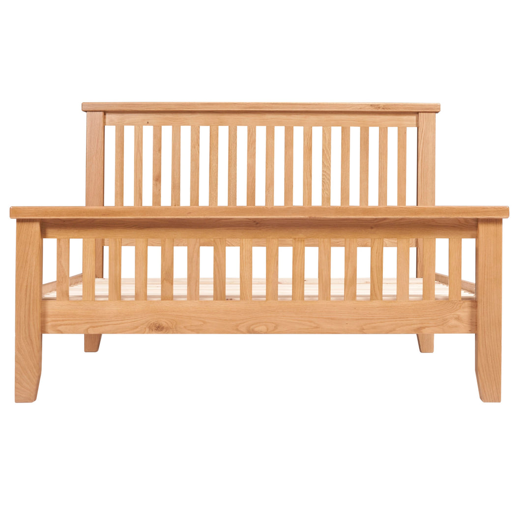 Canterbury Oak High End Bed (Available in 4ft 6', 5ft)