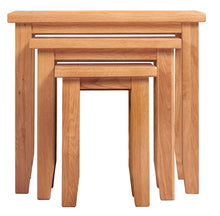 Canterbury Oak Nest Of Tables
