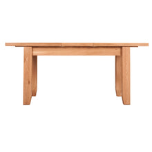 Waxed Canterbury Oak Extending Dining Table (1.4 m-1.8 m) - HomePlus Furniture