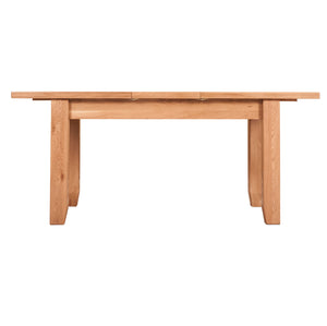 Waxed Canterbury Oak Extending Dining Table (1.8 m-2.3 m) - HomePlus Furniture