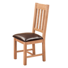 Waxed Canterbury Oak Dining Chair - HomePlus Furniture