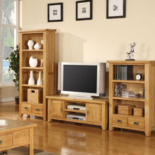 Canterbury Oak Large Bookcase