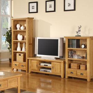 Canterbury Oak Medium Bookcase