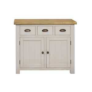 Cotswold Wimbourne 3 Drawer 2 Door Sideboard - Cotswold Pine - HomePlus Furniture