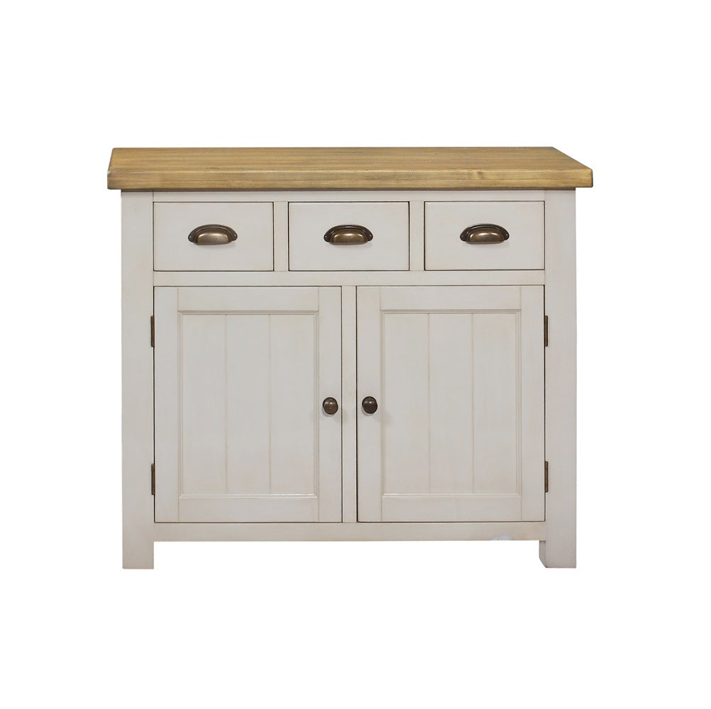 Cotswold Wimbourne Pine 3 Drawer 2 Door Sideboard