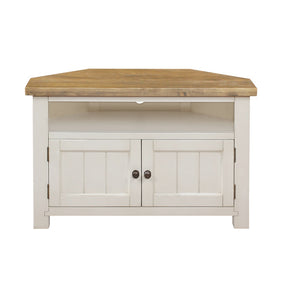 Cotswold Wimbourne Corner TV Unit - Cotswold Pine - HomePlus Furniture