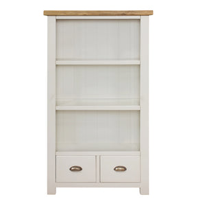 Cotswold Wimbourne Medium Bookcase (1.5 m) - Cotswold Pine - HomePlus Furniture