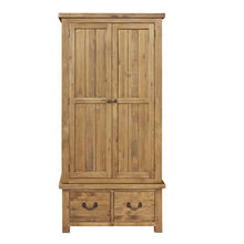 Cotswold 2 Door 2 Drawer Wardrobe - HomePlus Furniture