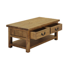 Cotswold 2 Drawer Coffee Table - Cotswold Pine - HomePlus Furniture