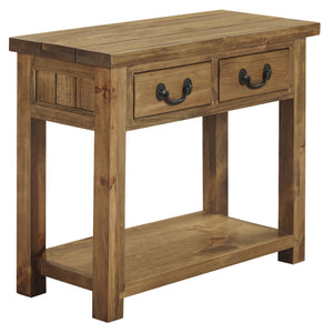 Cotswold 2 Drawer Console Table - HomePlus Furniture