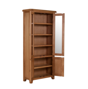 Cambridge Oak Display Cabinet