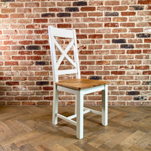 Cambridge White Painted Oak Dining Chair - HomePlus Furniture