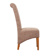 London Tweed Dining Chair - Beige - HomePlus Furniture - HomePlus Furniture