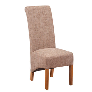London Tweed Dining Chair | Beige - HomePlus Furniture