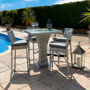 Albert Bar Set with Ice Bucket - HomePlus Furniture