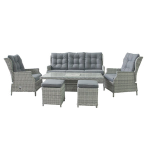 Archie Sofa Dining Set with Rising Table & Ice Bucket | New - HomePlus Furniture