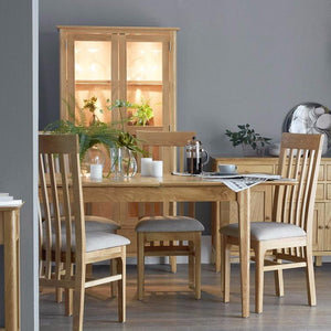 Newton Oak Extending Dining Table (1.6 m-2.1 m)