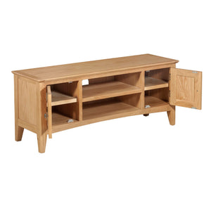 Hansen Oak Large TV Unit - HomePlus Furniture