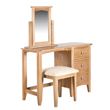 Hansen Oak Dressing Table - HomePlus Furniture