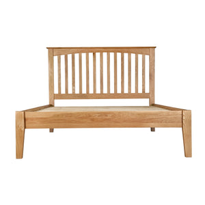 Hansen Oak 5ft Kingsize Bed - HomePlus Furniture
