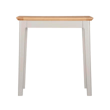 Eva Shaker Oak Lamp Table - HomePlus Furniture