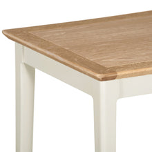 Eva Shaker Oak Lamp Table Charleston Grey