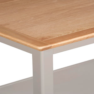 Eva Shaker Oak Coffee Table Charleston Grey